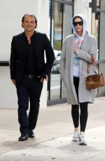 CHARLIZE THERON Leaves a Meeting in Hollywood 05/07/2019