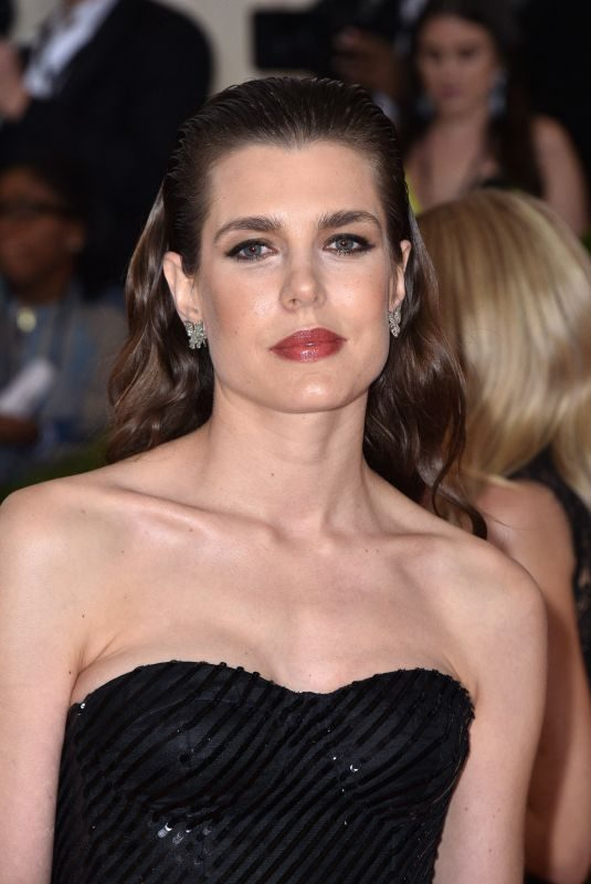 CHARLOTTE CASIRAGHI at 2019 Met Gala in New York 05/06/2019