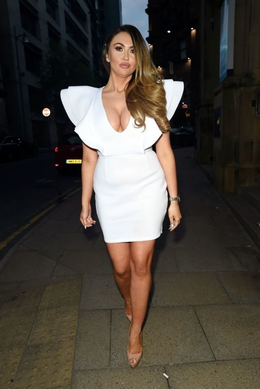 CHARLOTTE DAWSON at Rosso Restaurant in Manchester 05/05/2019