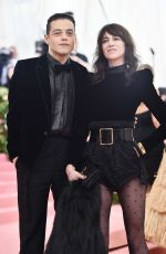 CHARLOTTE GAINSBOURG at 2019 Met Gala in New York 05/06/2019
