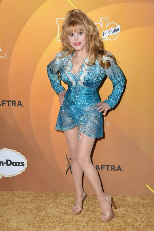 CHARO at Los 50 Mas Bellos Celebration in West Hollywood 05/24/2019