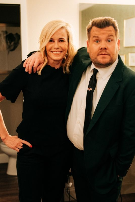 CHELSEA HANDLER at Late Late Show with James Corden 05/07/2019