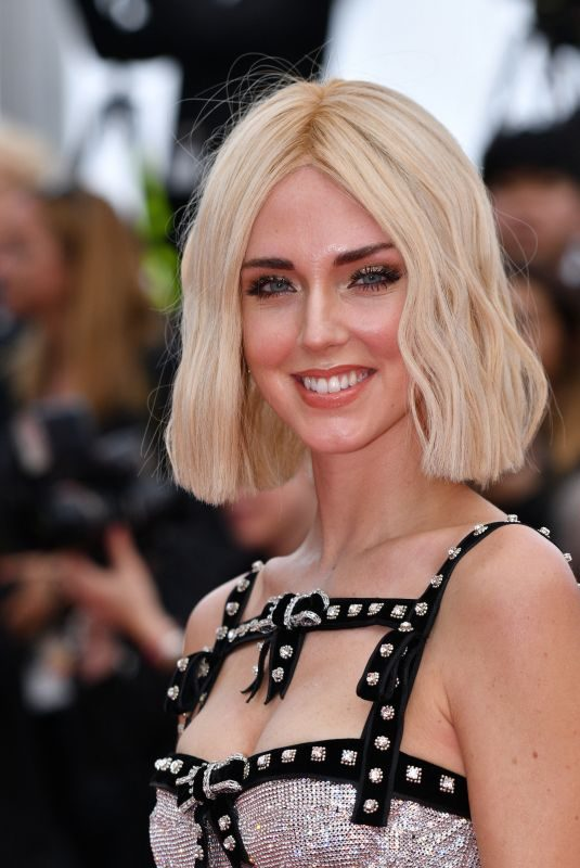 CHIARA FERRAGNI at Once Upon a Time in Hollywood Photocall at Cannes Film Festival 05/22/2019