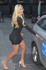 CHLOE FERRY at Banyan Restaurant in Newcastle 05/05/2019