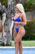 CHLOE FERRY in Bikini at a Pool in Ibiza 05/26/2019