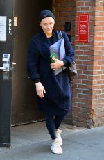 CHLOE MORETZ Leaves a Gym in New York 05/07/2019