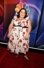 CHRISSY METZ at NBCUniversal Upfront Presentation in New York 05/13/2019