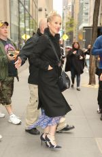 CHRISTINA APPLEGATE Leaves NBC Studios in New York 05/01/2019