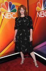 CHRISTINA HENDRICKS at NBCUniversal Upfront Presentation in New York 05/13/2019