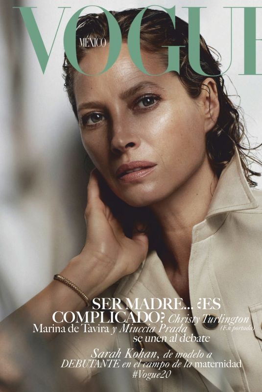 CHRISTY TURLINGTON in Vogue Magazine, Mexico May 2019