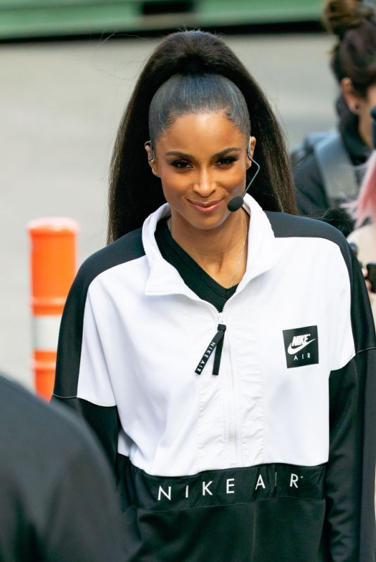 CIARA Performs at Jimmy Kimmel Live! in Los Angeles 05/17/2019