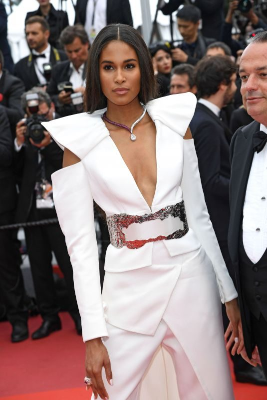 CINDY BRUNA at La Belle Epoque Screening at 72nd Annual Cannes Film Festival 05/20/2019