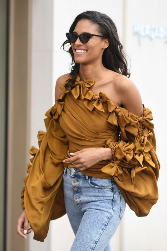 CINDY BRUNA Out on Croisette in Cannes 05/19/2019