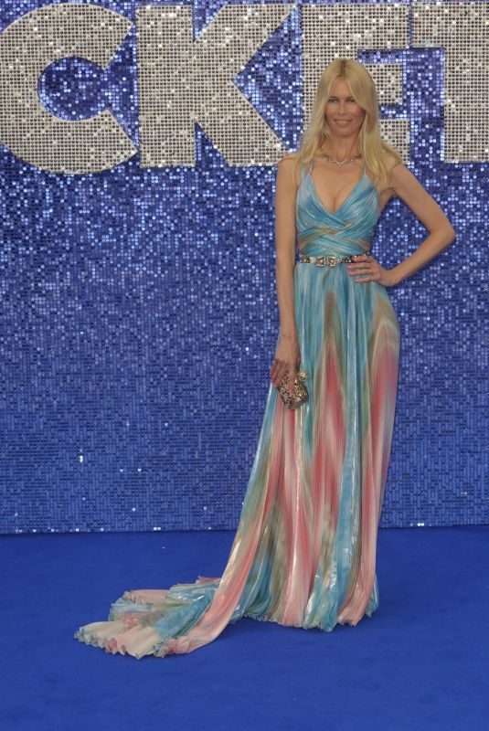 CLAUDIA SCHIFFER at Rocketman Premiere in London 05/20/2019