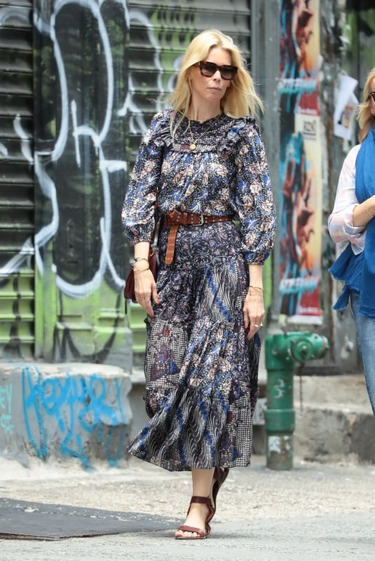 CLAUDIA SCHIFFER Out in New York 05/30/2019