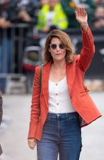 COBIE SMULDERS Arrives at Jimmy Kimmel Live! 05/09/2019