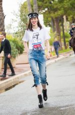 COCO ROCHA Out at Cannes Film Festival 05/18/2019
