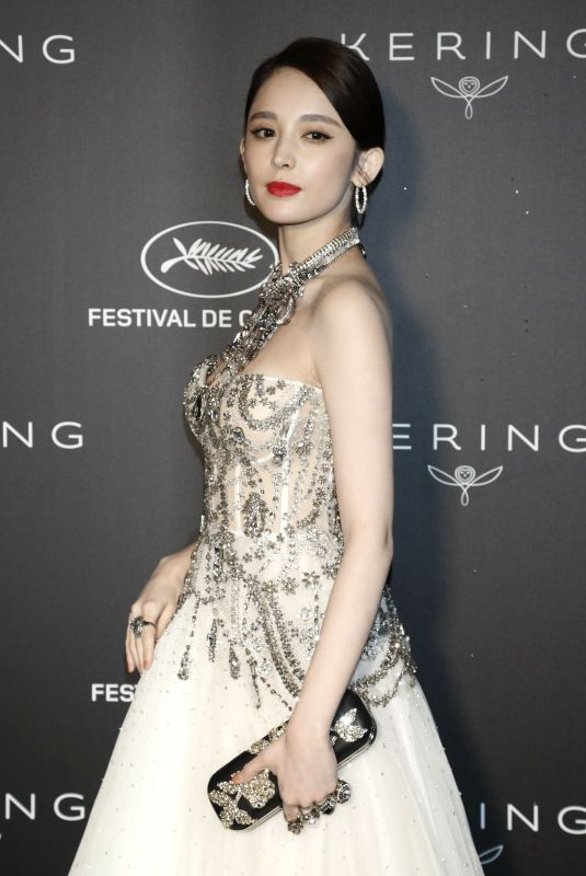 COULEE NAZHA at Kering Women in Motion Awards Dinner in Cannes 05/19/2019