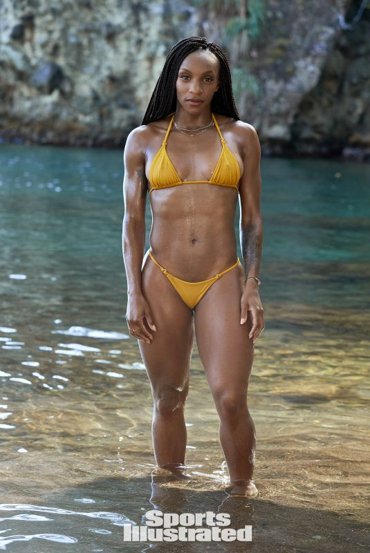 CRYSTAL DUNN in Sports Illustrated Swimsuit 2019 Issue