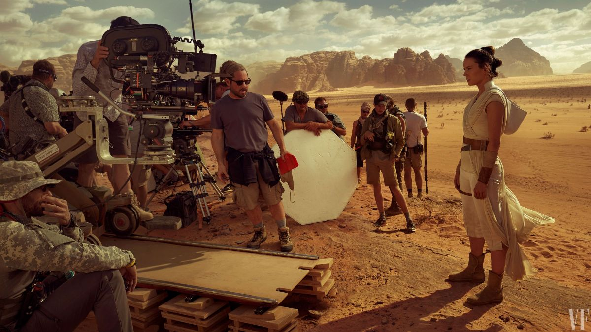 Daisy Ridley In Vanity Fair S Special Star Wars Episode Ix