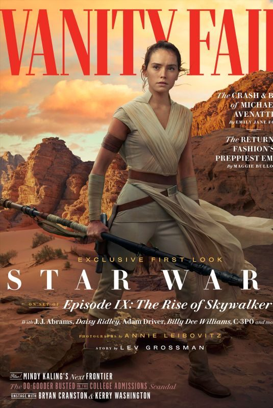 DAISY RIDLEY in Vanity Fair's Special Star Wars Episode IX – The Rise of Skywalker, June 2019
