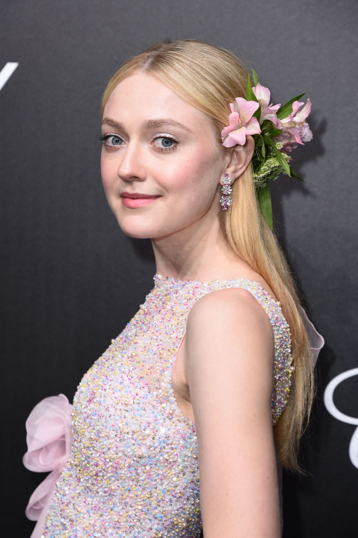 DAKOTA FANNING at Official Trophee Chopard Dinner at ...