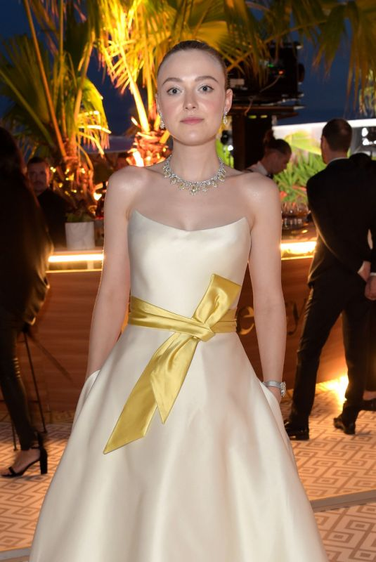 DAKOTA FANNING at Once Upon a Time in Hollywood Party in Cannes 05/21/2019