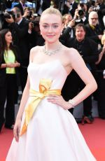 DAKOTA FANNING at Once Upon a Time in Hollywood Screening at Cannes Film Festival 05/21/2019