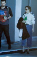 DAKOTA JOHNSON Arrives at a Studio in Koreatown 05/16/2019
