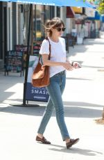 DAKOTA JOHNSON Leaves a Skin Care Salon in Los Angeles 05/25/2019