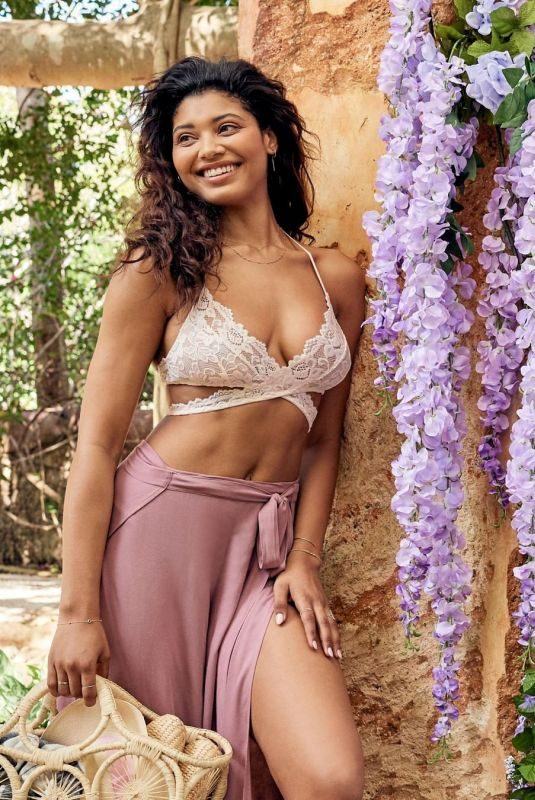 DANIELLE HERRINGTON for Adore Me Signature Lace 2019 Collection