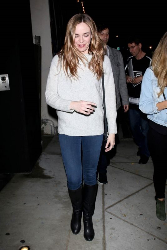 DANIELLE PANABAKER at Craig's Restaurant in West Hollywood 05/10/2019