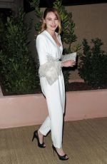DEBORAH FRANCOIS at Dior and Vogue Dinner at Cannes Film Festival 05/15/2019