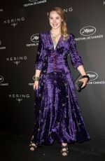 DEBORAH FRANCOSI at Kering Women in Motion Awards Dinner in Cannes 05/19/2019