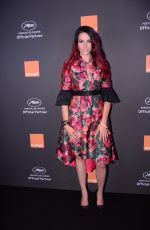 DELPHINE WESPISER at Orange Party at Plage Majestic in Cannes 05/18/2019