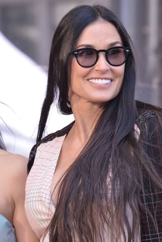 DEMI MOORE at Lucy Liu Walk of Fame Ceremony in Los Angeles 05/01/2019