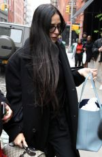 DEMI MOORE Out in New York 05/03/2019