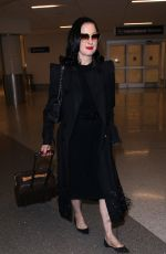 DITA VON TEESE at Los Angeles International Airport 05/20/2019