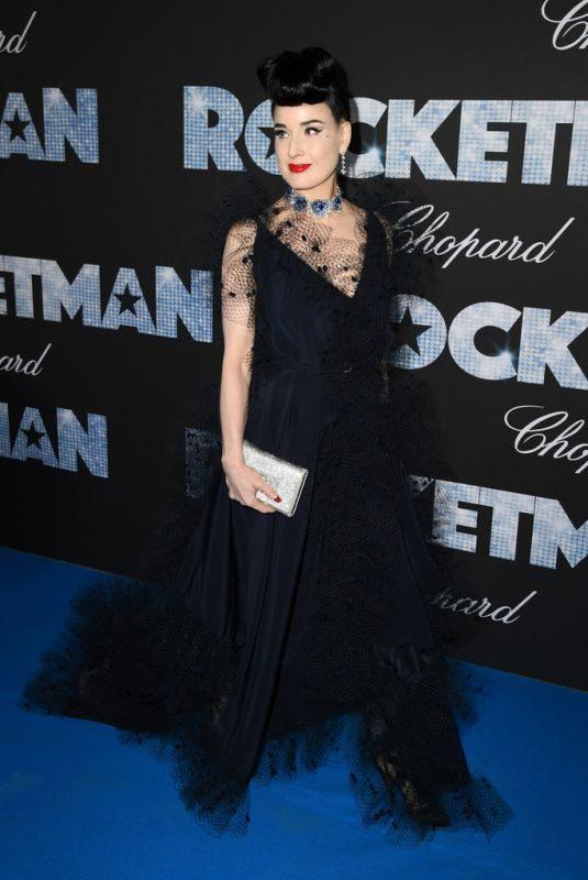 DITA VON TEESE at Rocketman Gala Party at Cannes Film Festival 05/16/2019