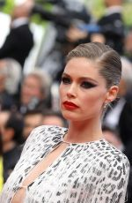 DOUTZEN KROES at Once Upon a Time in Hollywood Screening at 2019 Cannes Film Festival 05/21/2019