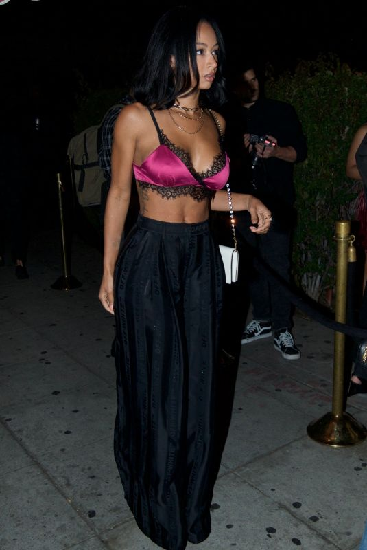 DRAYA MICHELE at Delilah in West Hollywood 05/08/2019