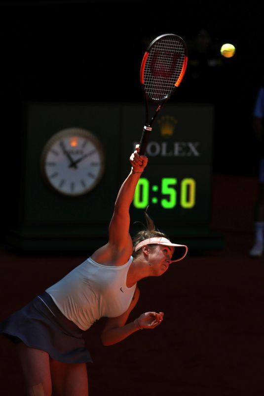 ELINA SVITOLINA at Mutua Madrid Open Tennis Tournament in Madrid 05/05/2019