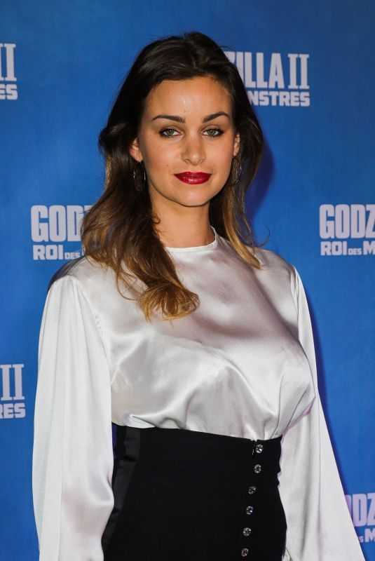 ELISA BACHIR BEY at Godzilla: King of the Monsters Premiere in Paris 05/26/2019