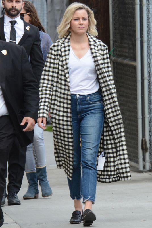 ELIZABETH BANKS Arrives at Jimmy Kimmel Live! in Hollywood 05/21/2019