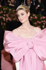 ELIZABETH DEBICKI at 2019 Met Gala in New York 05/06/2019