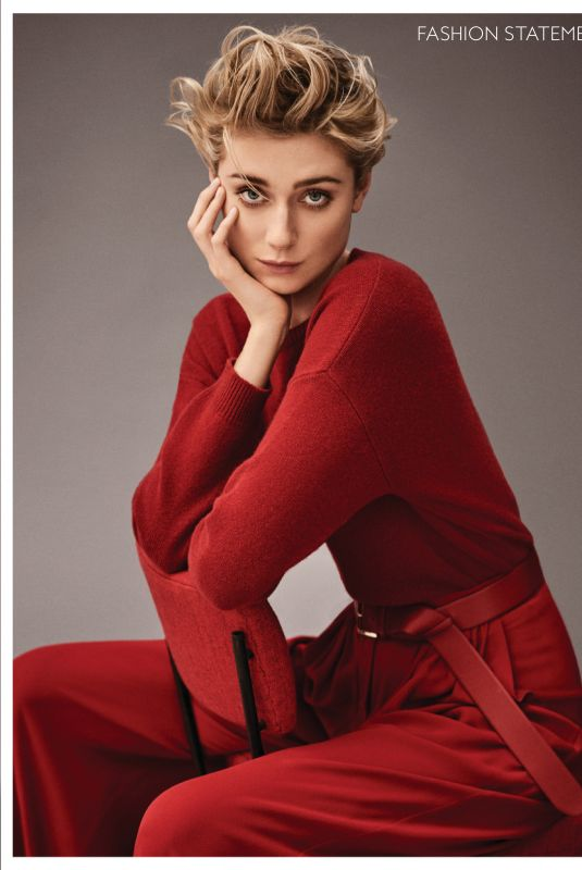 ELIZABETH DEBICKI in Instyle Magazine, June 2019