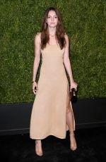 ELLA HUNT at 14th Annual Tribeca Film Festival Artists Dinner Hosted by Chanel 04/29/2019