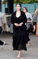 ELLE BLEU TRAVOLTA Arrives at Jimmy Kimmel Live in Los Angeles 05/22/2019