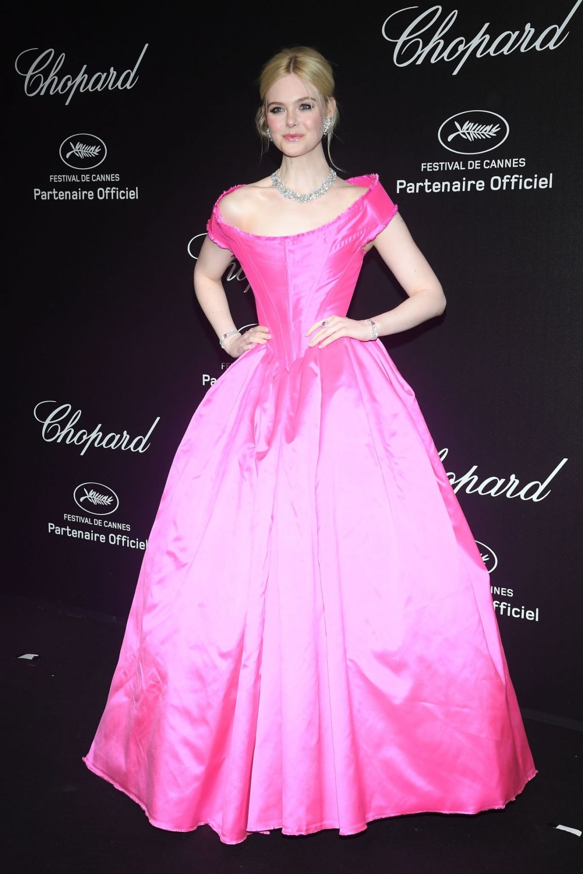 Elle Fanning At Chopard Party At 2019 Cannes Film Festival