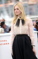 ELLE FANNING at Jury Photocall at 2019 Cannes Film Festival 05/14/2019